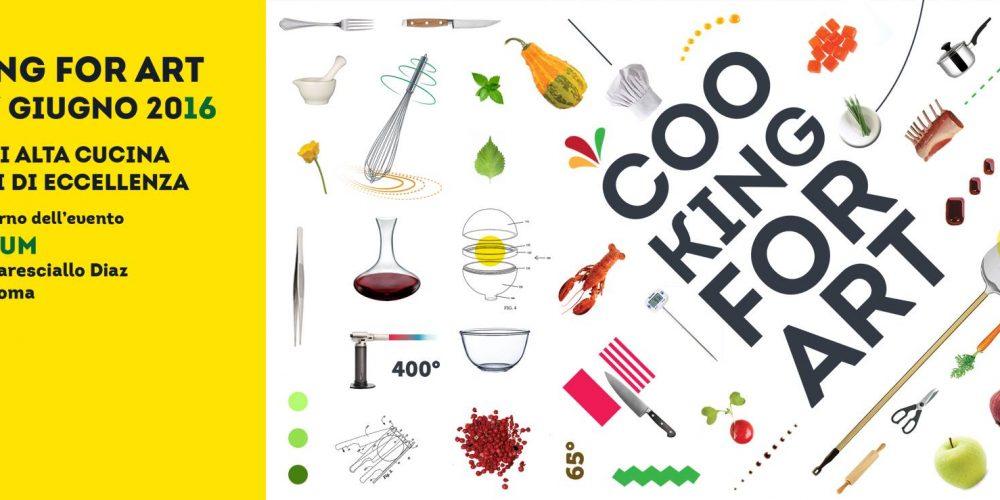 COOKING FOR ART –  PREMIO AL MIGLIOR EMERGENTE DEL CENTROSUD: CHEF e PIZZA #SolluccheroRoma